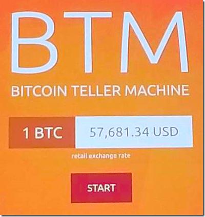 Bitcoin ATM Price
