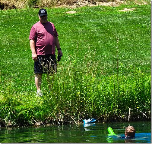 Debbie Pond Boating Accident Aground