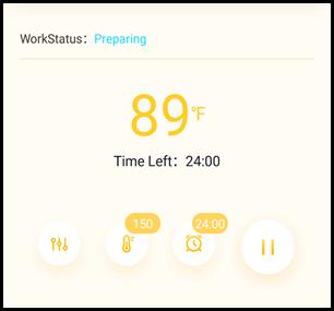 Inkbird Sous Vide Phone App 1