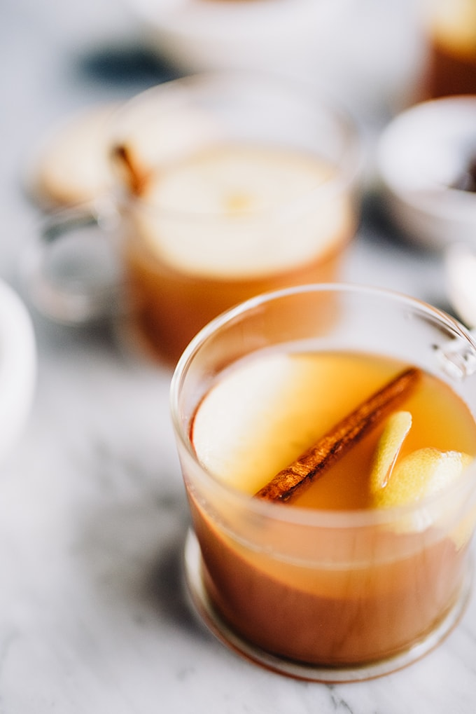 What's better than a hot toddy? An apple cider hot toddy with maple syrup. This fall seasonal version of the classic is perfectly spiced, just sweet enough, and a tonic to all that ails you in autumn.