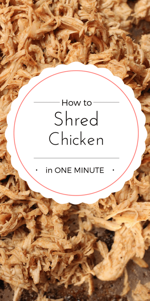 How To Shred Chicken In One Minute Our Savory Life