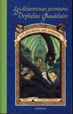 Orphelins Baudelaire, t2, Le Laboratoire aux serpents (couverture)