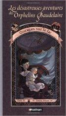 Orphelins Baudelaire, t3, Ouragan sur le lac (couverture)