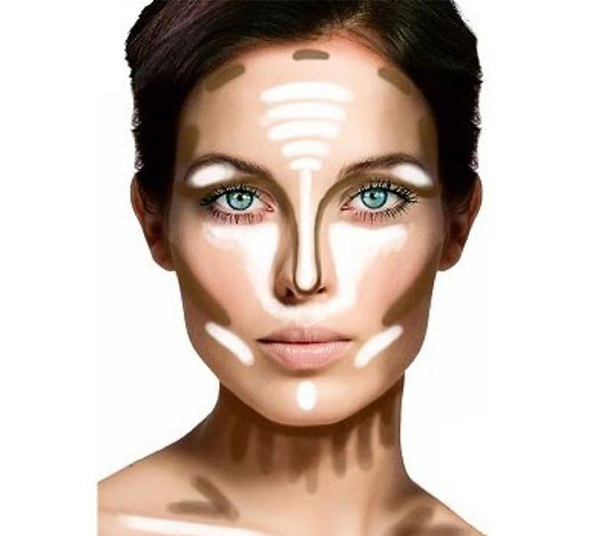 make-up-contouring-neck