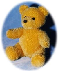 modele d'ourson en mohair - 1997