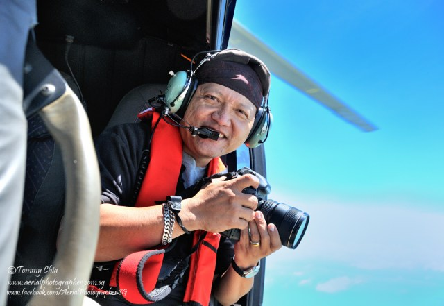 Aerial photographer Tommy Chia