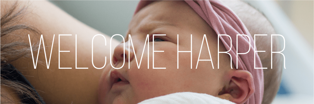 Welcome, Harper.