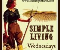 Simple Living Wednesday Link Up!