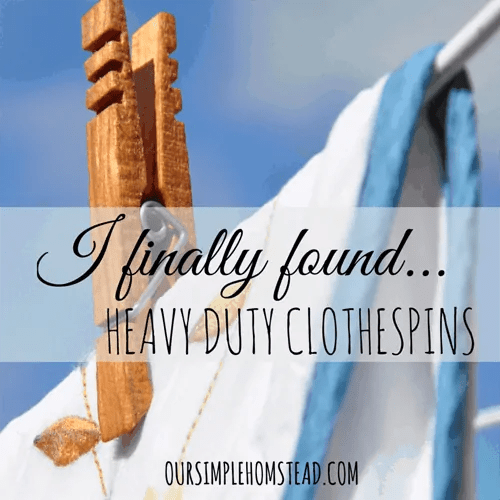 heavy duty clothespins