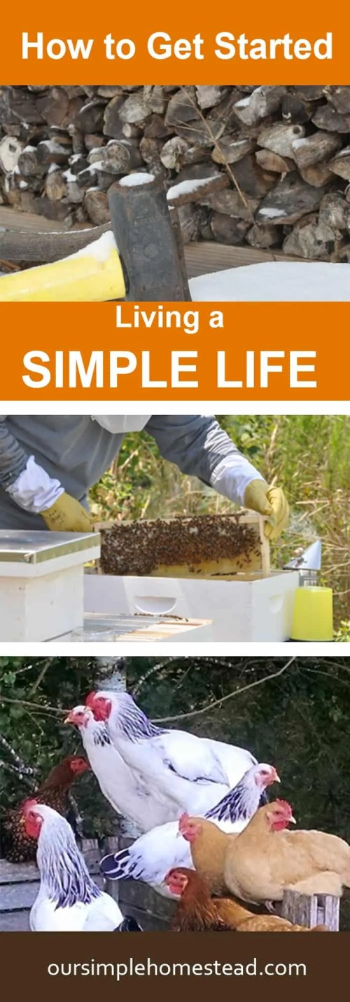 How to Get Started Living a Simple Life