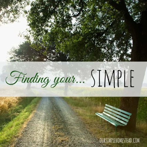 Finding Your Simple