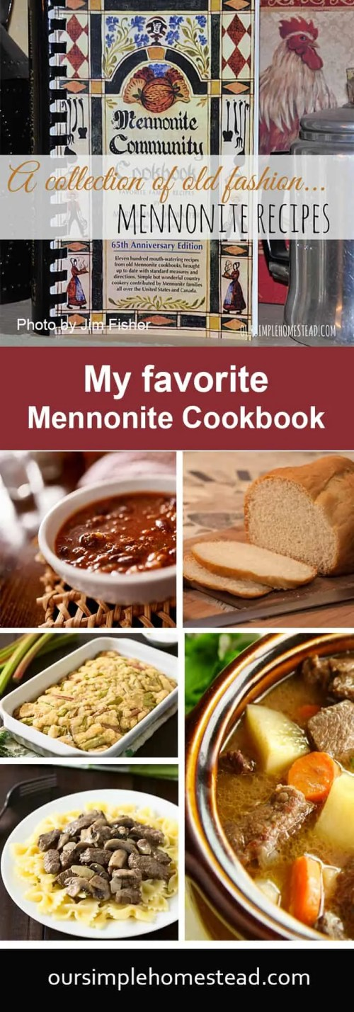 A Collection of Mennonite Recipes