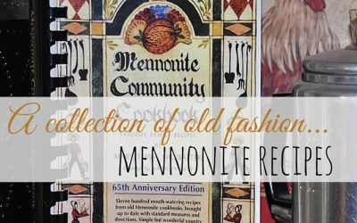 Collection of Old Fashion Mennonite Recipes