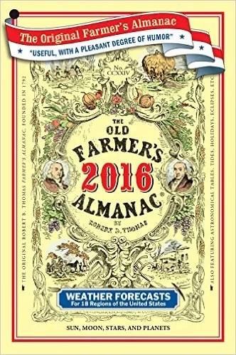 2016 Farmers Almanac