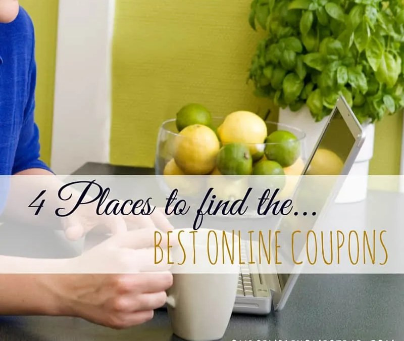 4 Places to Find the Best Online Coupons