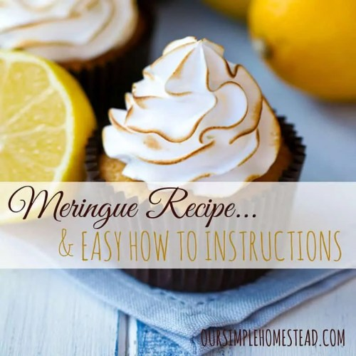 Meringue Recipe & Easy How to Instructions