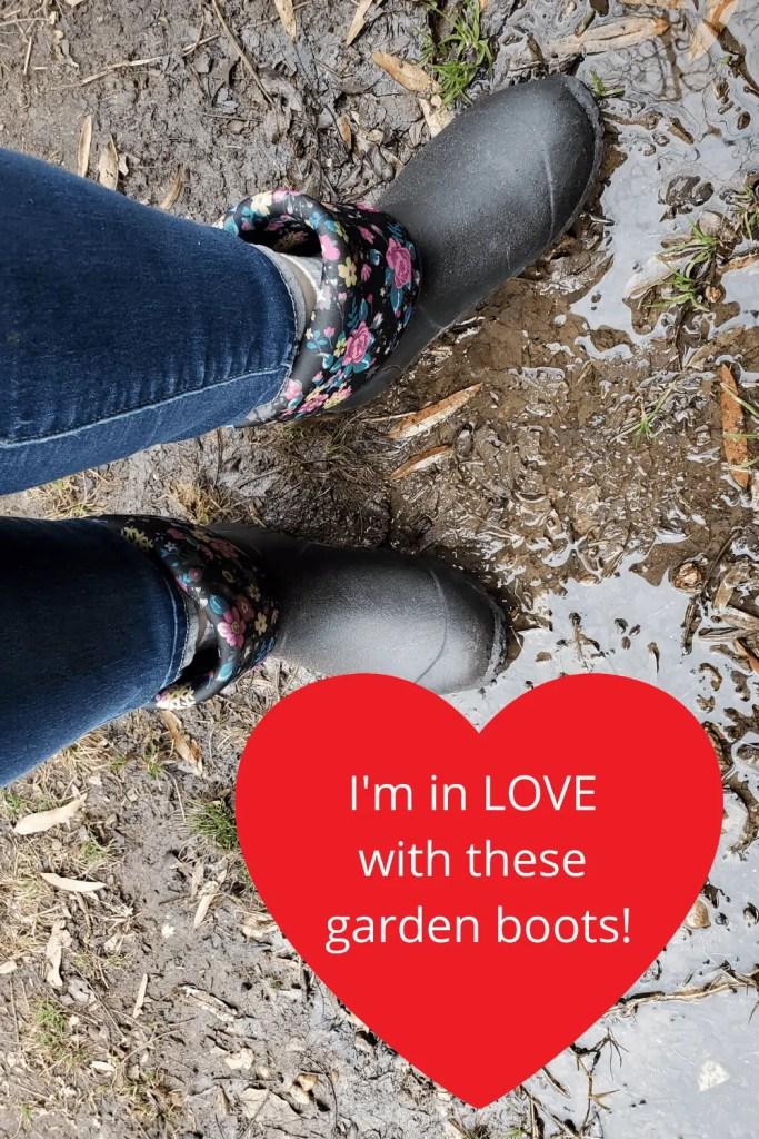 womens gardening boots