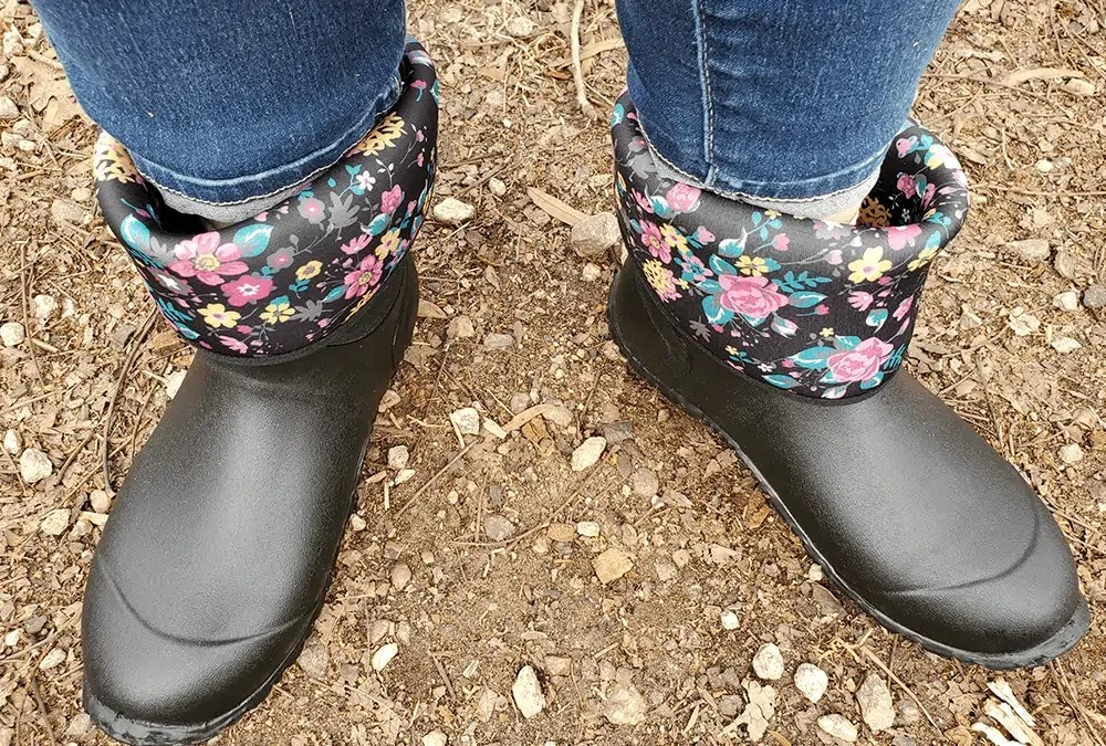 Finally a pair of garden boots I LOVE!