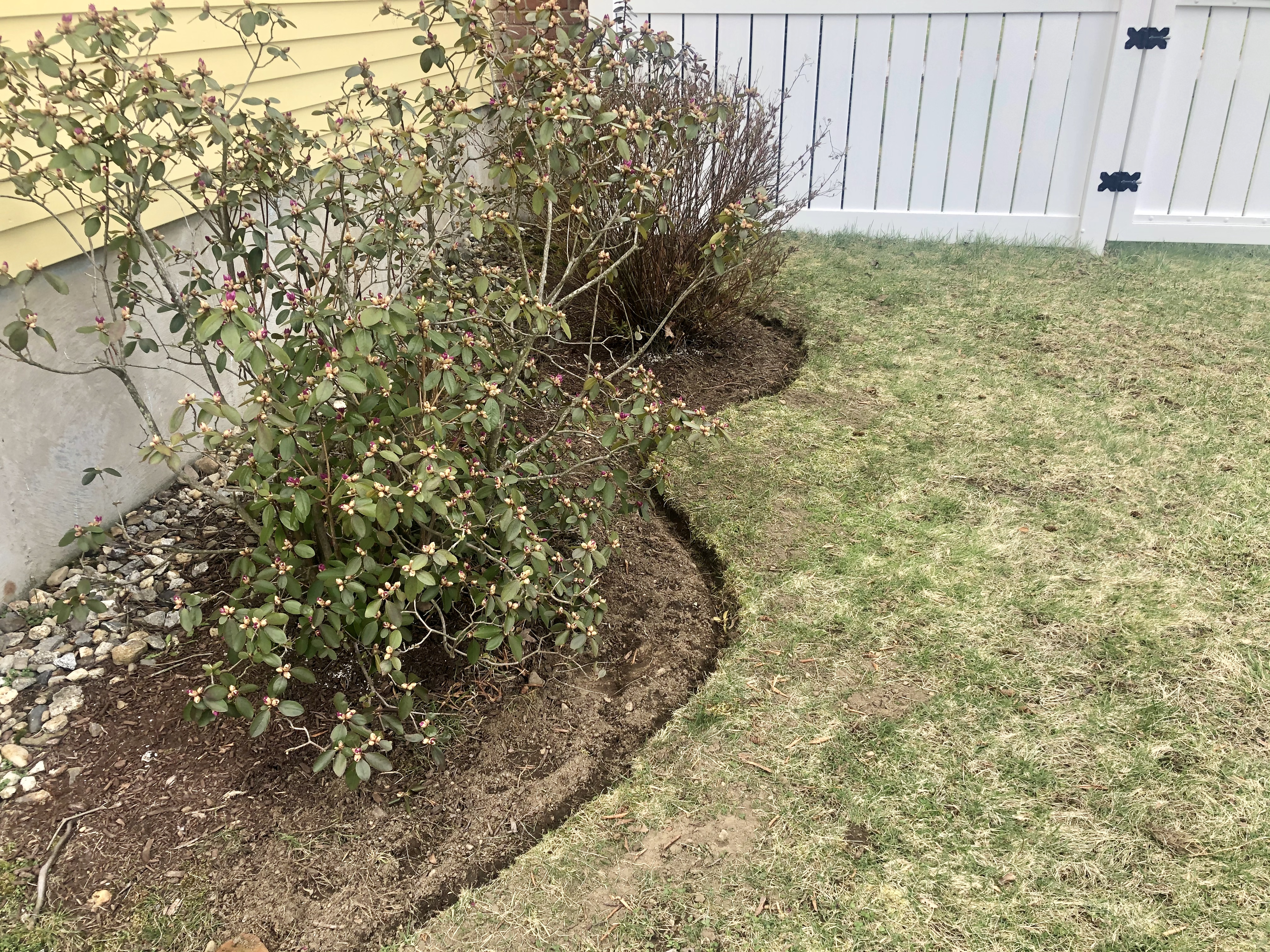How To Edge Your Garden With A Flat Shovel Our Small Cape