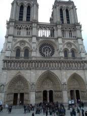 Notre Dame western façade