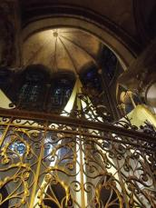 Notre Dame, interior, ceiling.