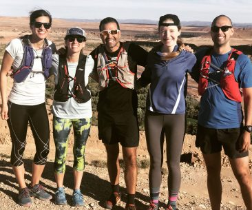 We are on a runcation in Morocco