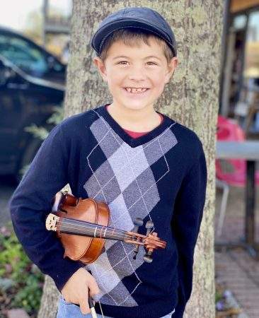 I started playing the violin when I was three