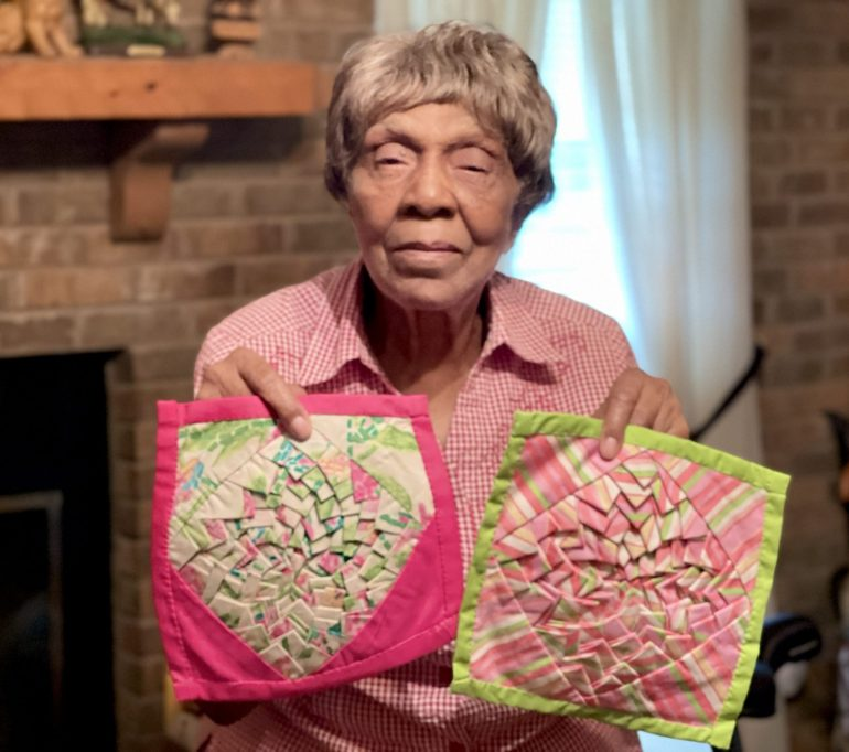 I was always looking for patterns for my quilts