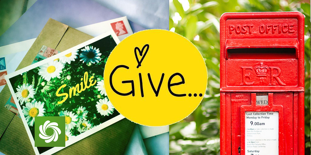 Letters and postbox