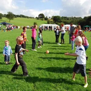 Games at Berry Brow Carnival