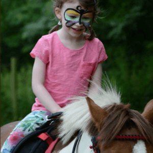 Pony riding at Berry Brow Carnival