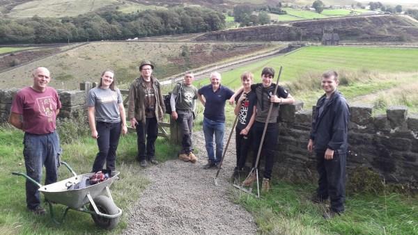 Colne Valley Tree Society volunteers