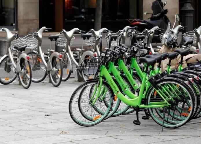 Program bike-sharing di paris