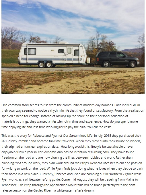 Blue Ridge Outdoors | Our Streamlined Life