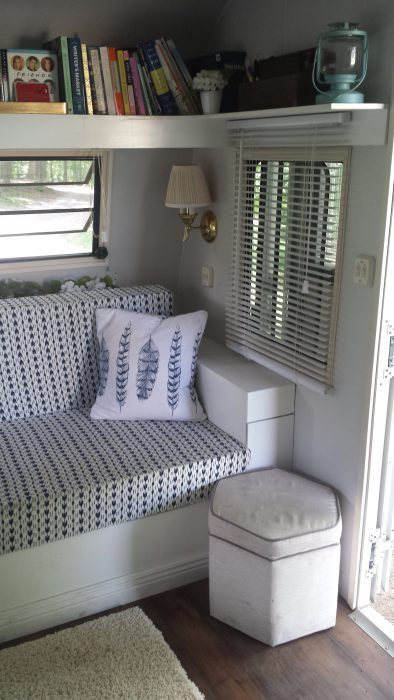 Holiday Rambler Doors & Windows Living Room Our Streamlined Life