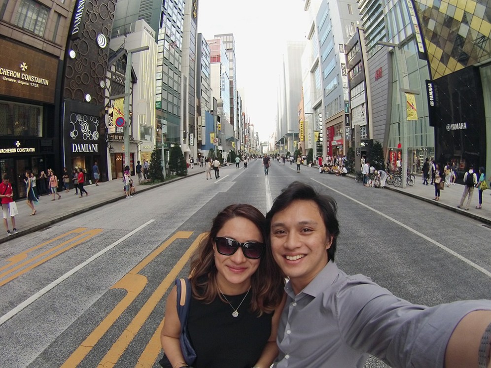 Tokyo: Ginza Jon and Chrina