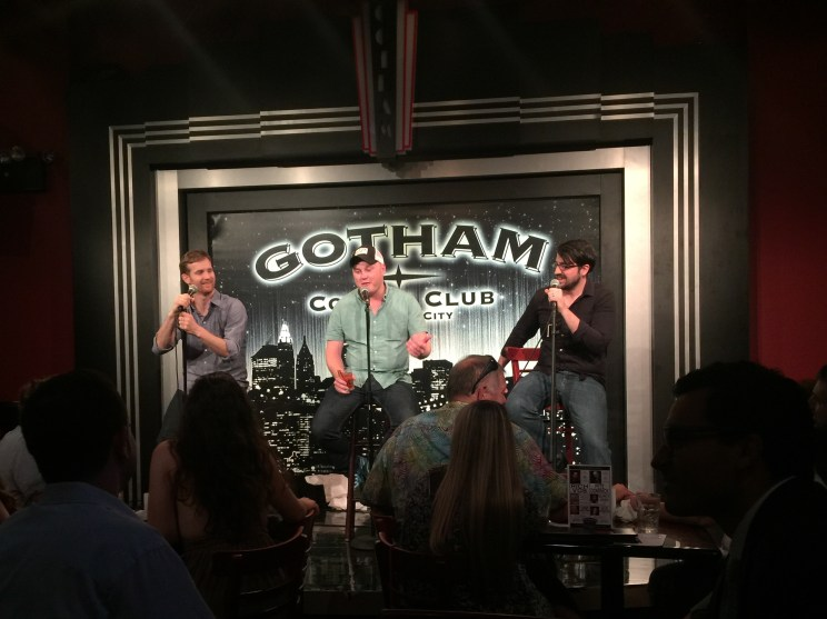 Q&A at Gotham where we learned that a lot of y'all are livin in the big city now.