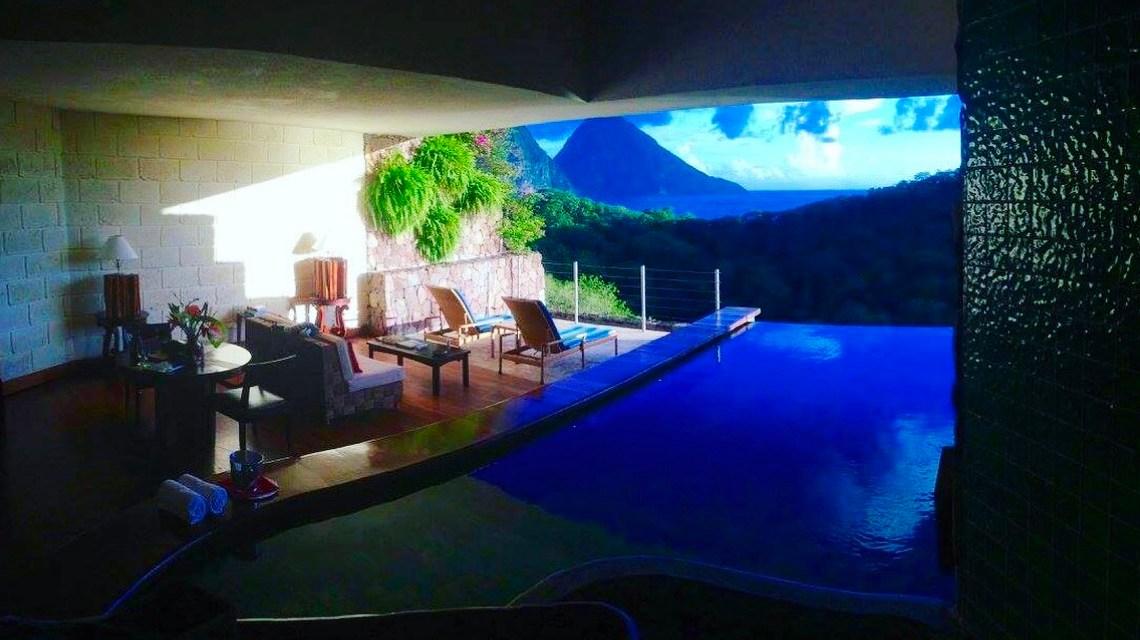 The Most Luxurious Honeymoon at Jade Mountain