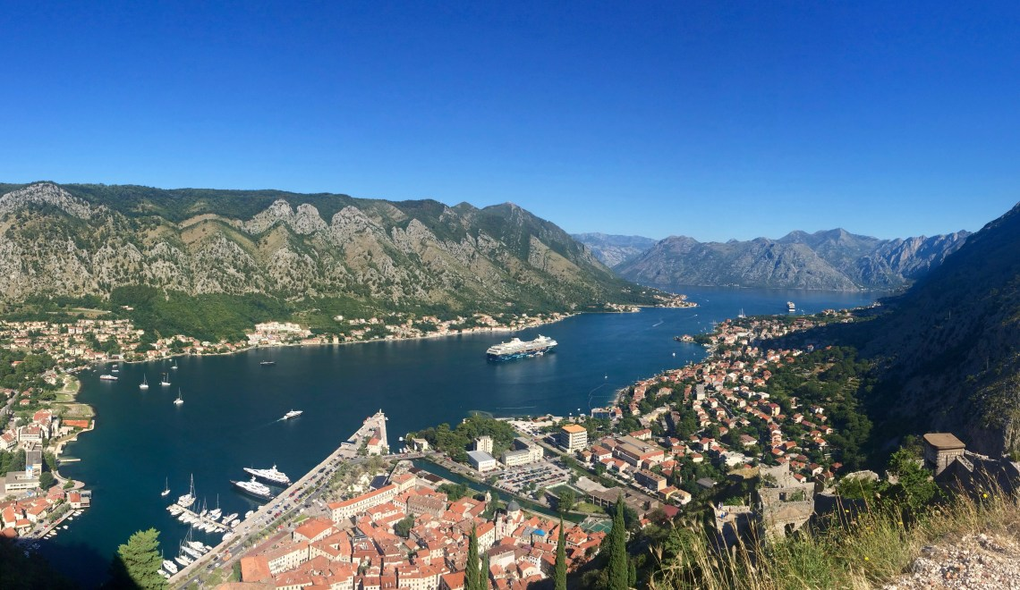 Hiking Kotor's Castle of San Giovanni