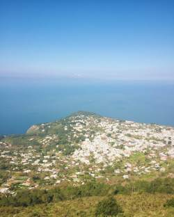 View from the chair lift in Capri - OSS