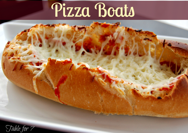 Pizza Boats