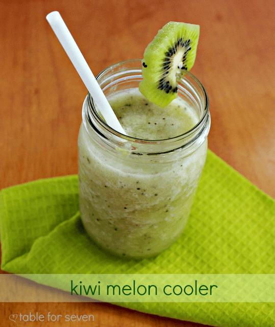 Kiwi-Melon Cooler