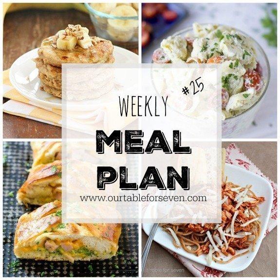 Weekly Meal Plan 25