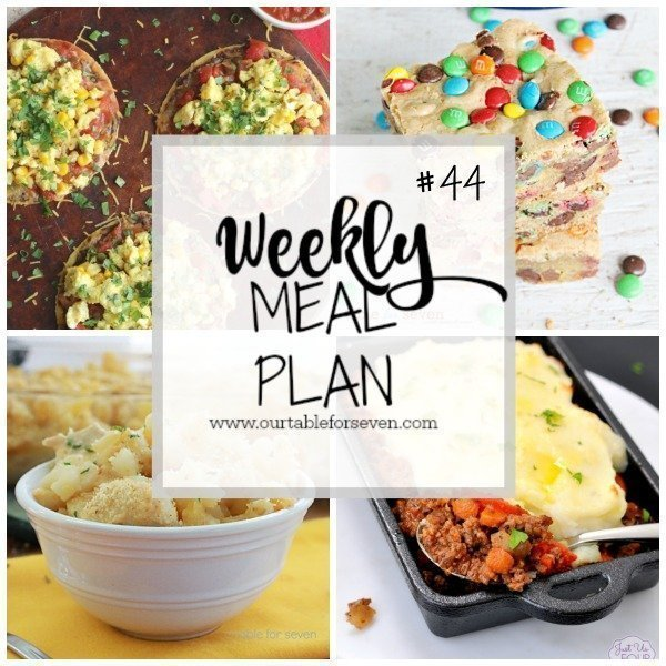 Weekly Meal Plan #44 from Table for Seven