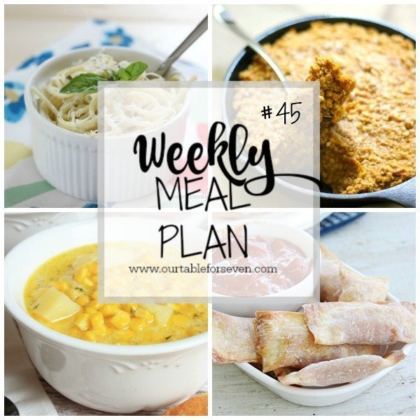 Weekly Meal Plan #45 from Table for Seven