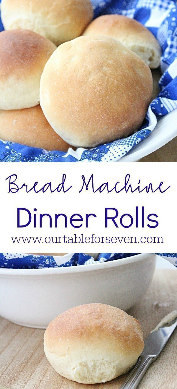 Bread Machine Dinner Rolls from Table for Seven