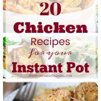 20 Chicken Recipes for Your Instant Pot