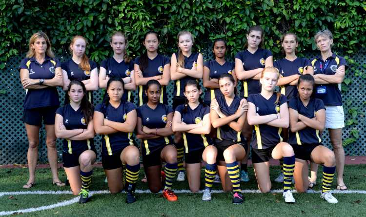 JV Girls Touch 2016