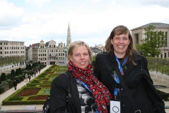 Icelandic team in Brussels