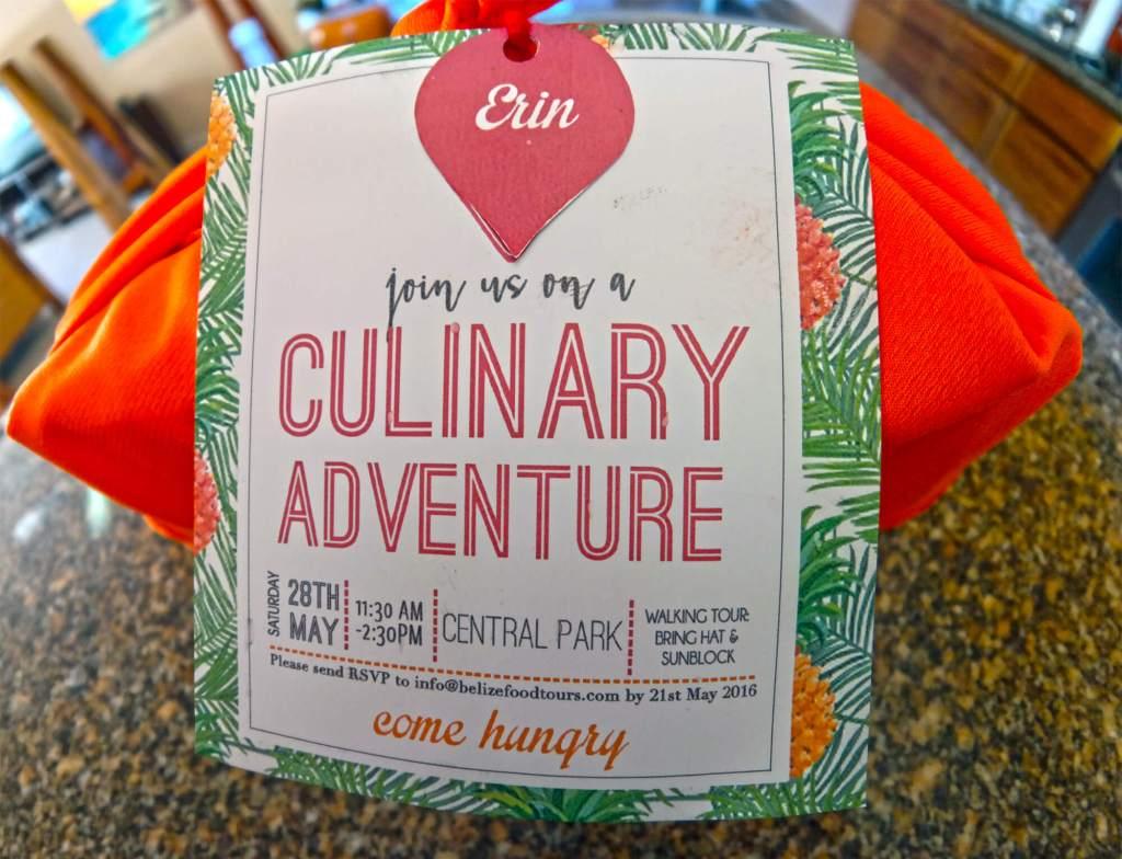 Media Invite Belize Food Tours - Ourtastytravels.com